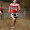 Hamilton: Daryl Varney from North Andover eyes the finish line while competing in his team's meetat Bradley Palmer State Park in Hamilton against Masconomet on Tuesday. Photo by Matt Viglianti/Salem News Tuesday, October 21, 2008