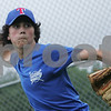 Topsfield: Ethan Dyer, 12, from Topsfield winds up to deliver a pitch during practice with the Topsfield Little League all-star team on Tuesday. Photo by Matthew Viglianti/Staff Photographer Tuesday, June 23, 2009.