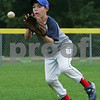 Topsfield: Anthony DeSimone, 12, from Topsfield fields a grounder during practice with the Topsfield Little League all-star team on Tuesday. Photo by Matthew Viglianti/Staff Photographer Tuesday, June 23, 2009.