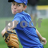 Topsfield: George May, 12, from Topsfield eyes the catcher's mitt while pitching during practice with the Topsfield Little League all-star team on Tuesday afternoon. Photo by Matthew Viglianti/Staff Photographer Tuesday, June 23, 2009.