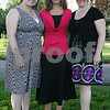 Salem: From left to right, Lisa Gath, Mary Warren, and Lori Evans pose in front of the Plummer Home for Boys during Thursday afternoon's Celebration of Community fundraiser. Photo by Matthew Viglianti/Staff Photographer Thursday, June 25, 2009.