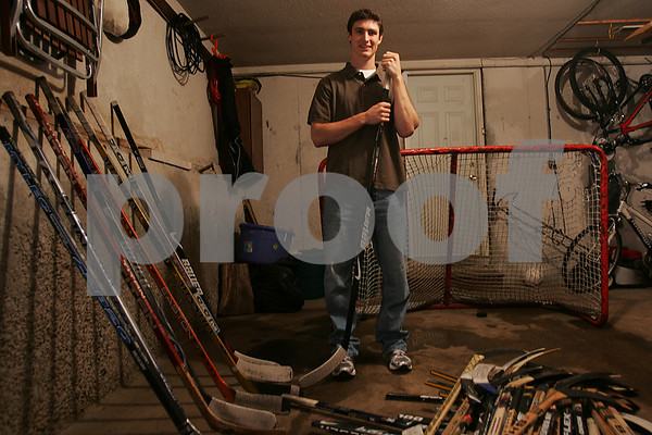 Boxford: Chris Kreider from Boxford is expected to be chosen in the first round of next week's National Hockey League Draft in Montreal. Photo by Matthew Viglianti/Staff Photographer Thursday, June 18, 2009.