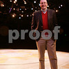 Beverly: David Fellows, chairman of the board of the North Shore Music Theatre, poses on the mainstage at the Theatre on Thursday afternoon. Photo by Matt Viglianti/Salem News Thursday, January 08, 2009