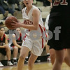 Topsfield: Masconomet senior Krissy DiBenedetto looks for an option during the first period of her teams' home game against North Andover on Sunday afternoon in Topsfield. Photo by Matt Viglianti/Salem News Sunday, January 11, 2009