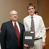 Salem News Student-Athlete Award dinner. Greg Krathwohl with Nelson Benton.