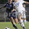 Danvers: Danvers freshman Corey Persson, right, streaks past Swampscott junior Monique Bleau on her way to scoring her third goal of the game during the Falcons' home game against Swampscott on Wednesday. Photo by Matt Viglianti/Salem News Wednesday, October 15, 2008