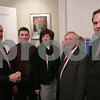 Peabody: From left to right, Tom Zellen, Dan Terenzoni, Mary Bellavance, Mayor Michael Bonfanti, and Scott Frasca pose during the Making a Difference in Peabody Foundation Fundraiser at the Cassidy Museum on Wednesday. Photo by Matt Viglianti/Salem News Wednesday, March 04, 2009