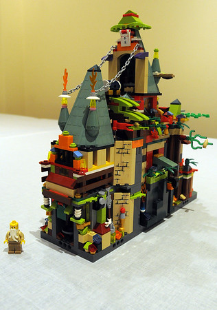 Wenham:<br /> A piece created by Ben Hanna at the LEGO art exhibit at the Wenham museum.<br /> Photo by Ken Yuszkus/The Salem News, Monday, September 10, 2012.