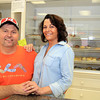 Peabody: John and Pattie Akatyszewski, are the owners of Ziggy's Donuts located at 476 Lowell St. Unit 6 in Peabody. The shop has been open about a month, after branching out and adding another location in addition to their shop in Salem. David Le/Salem News