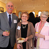 From left: Mike and Helen Medler, of Hawthorne Tours, and Penny Bigmore, from the Peabody Essex Museum, at the Annual Salem Chamber of Commerce Dinner held at the Peabody Essex Museum on Wednesday evening. DAVID LE/Staff photo. 4/23/14