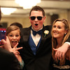 Salem High School juniors Emily Lonergan, Riley Grondin, and Brooke Salamida pose for a photo at Salem High School's junior prom held at the Peabody Marriott Hotel on Friday evening. DAVID LE/Staff photo 4/4/14