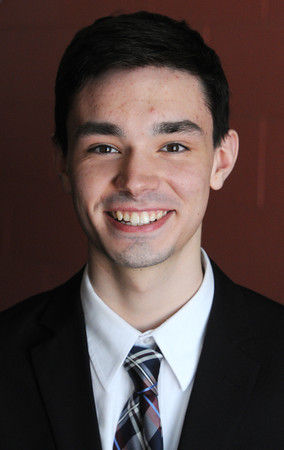 KEN YUSZKUS/Staff photo. Aidan Marchetti is a St. John's Prep art student.