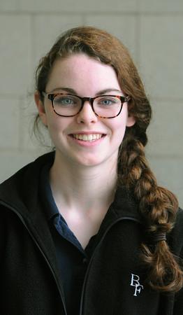 KEN YUSZKUS/Staff photo. Samantha Keiran is a student at Bishop Fenwick High School.