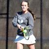 Pingree Girl's Tennis No. 2 Singles Junior Captain Casey Torto. DAVID LE/Staff photo 4/1/14