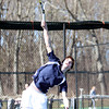 Pingree Boy's Tennis No. 1/2 Singles Junior Captain Dan Peters. DAVID LE/Staff photo 4/1/14