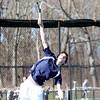 Pingree Boy's Tennis No. 1/2 Singles Junior Captain Dan Peters. DAVID LE/Staff photo 4/1/14