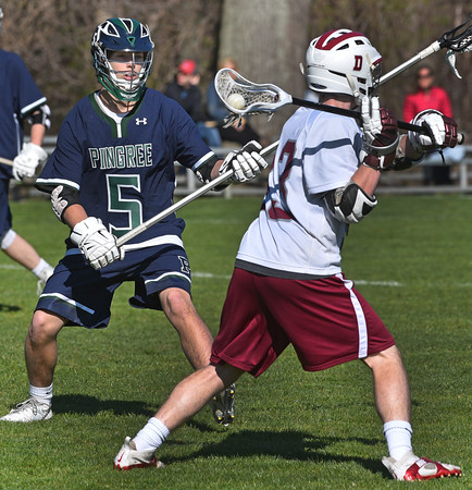 Pingree Lacrosse player Nathan Rawlins.<br /> <br /> Photo by JoeBrownPhotos.com