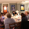 HADLEY GREEN/ Staff photo<br /> Women and men from the North Shore attended Paint and Sip Pottery Night with Patti DiCarlo Baker & Hestia Studios on April 14th, 2017.