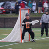 HADLEY GREEN/ Staff photo<br /> Beverly goalie Kevin Morency (17) watches the game play during the Marblehead v. Beverly boys varsity lacrosse game held at Marblehead High School on Tuesday, April 25th, 2017.