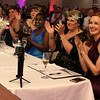 HADLEY GREEN/ Staff photo<br /> Miss Pink contestants and staff applaud after contestant Amanda Saudi concludes her speech about her fight with breast cancer at the annual Miss Pink Pageant held at the Danversport Yacht Club on April 8th, 2017.