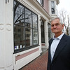 Richard Jagolta stands outside 107 Federal Street in Salem