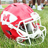 Masco Football Helmet. DAVID LE/Staff photo. 8/22/14.