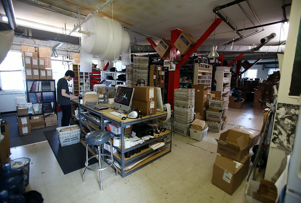 The DeathWish Inc. warehouse on Park Street in Beverly. DAVID LE/Staff photo. 8/1/14.