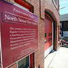 The North Street Fire Station has been undergoing renovations. DAVID LE/Staff photo. 8/19/14.