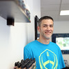 Michael Greene is the owner and founder of The Vapors Guild, located at 2 Tracey Street in Peabody. The shop, which opened April 1, 2014, sells beginner vaporizer kits, but will also build and teach people how to build their own vaporizer. DAVID LE/Staff photo. 8/19/14.
