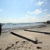 DAVID LE/Staff photo. Fisherman's Beach in Swampscott looking towards Boston. 8/26/15.