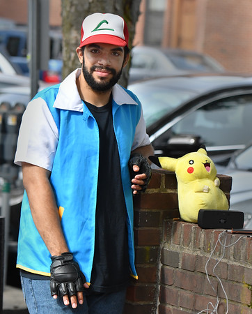 Raul Monteiro could be found at Artist's Row, in his character Ash Ketchum and with his friend Pikachu!<br /> <br /> Photo by JoeBrownPhotos.com