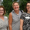 Women In Business Meeting - (l-r) Dorian Crawfoed PsyD of C&C Psycholgical Services, Kathryn Sullivan Publisher of Beverly Neighbors Magazine, and Paige Carambio PsyD of C&C Psychological Services.<br /> <br /> Photo by JoeBrownPhotos.com