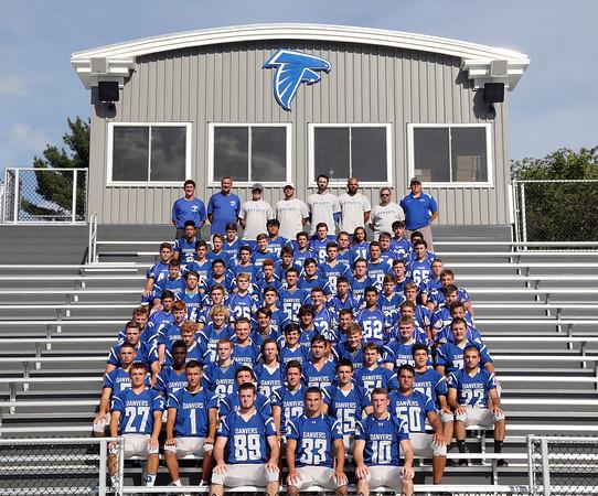 DAVID LE/Staff photo. 2016 Danvers High School Falcons. 8/30/16.