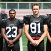 DAVID LE/Staff photo. Marblehead will be led by senior captains Bo Millett, Jaason Lopez, Manning Sears, and Harry Craig. 8/26/16.