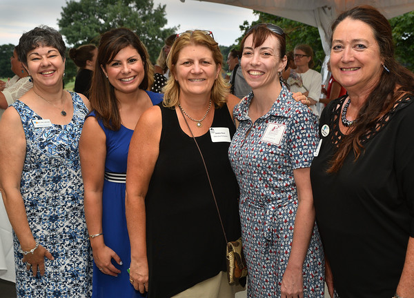 Women in Business at the Tedesco CC -(l-r) kate Victory Hannisian Blue Pencil Consulting, Kailyn Brown Blueberry Hill Rehab, Bobbiee Bush, Bobbie Bush Photography, Shane Thomas Landmark Oceanview Senior Living, and Marisa l Cole Sensational Travel.<br /> <br /> Photo by JoeBrownPhotos.com