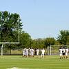 Ipswich High football practice
