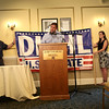 HADLEY GREEN/Staff photo<br /> Republican senate candidate Geoff Diehl visits the Hawthorne Hotel in Salem as part of his campaign kickoff tour. 8/03/17