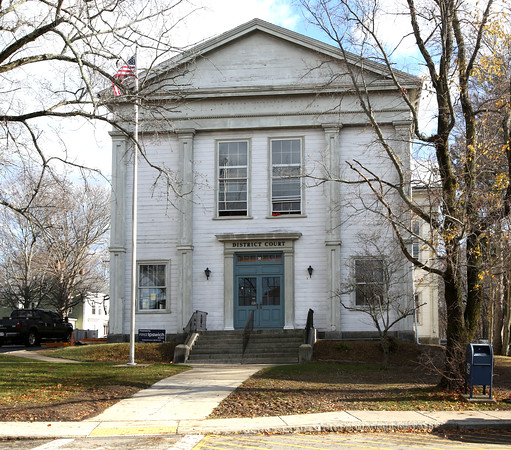 Former Ipswich District Court building is being turned into condominiums.