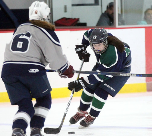Pingree Girls Hockey vs Newton