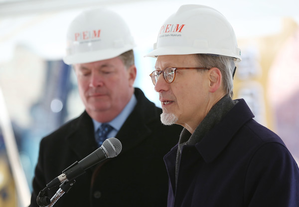 Peabody Essex Museum broke ground on their 40,000-square-foot expansion.