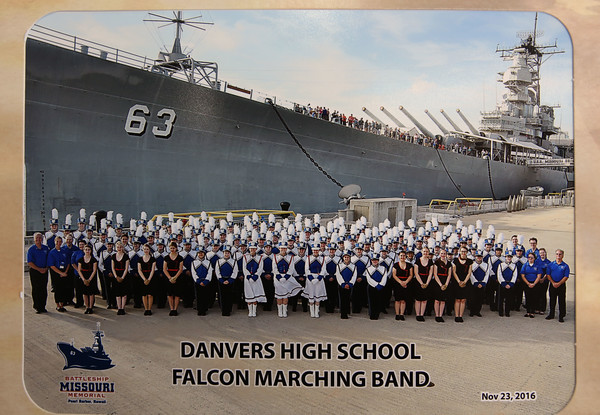 Danvers marching band students talk about their trip to Pearl Harbor