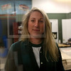 "HADLEY GREEN/Staff photo<br /> Chrissy Lebel stands in her studio in Lynn. Lebel began her business, Lebel Signs, in 2013 and has specialized in re-creating ""ghost signs."" These are the old, faded, historic signs that either don't exist anymore or show up on buildings as faded, chipped away paint. <br /> 12/23/17"