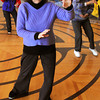 Ken Yuszkus/Staff photo: Beverly: From left, Linda Regis, Nancy Hamlin, and Adah Marker perform Tai Chi at the Council On Aging Senior Community Center in Beverly.