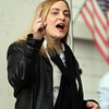 Congressional candidate Marisa DeFranco speaks during the Democratic Caucus held at Salem High School on Saturday morning. DAVID LE/Staff Photo 2/28/14
