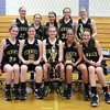 The Bishop Fenwick Crusaders took home the championship trophy of the inaugural General Patton Tournament hosted by Hamilton-Wenham Girl's Basketball team. DAVID LE/Staff Photo