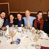 From left, Jon and Emily Skoniecki, Richard and Hillary Mandelbaum, and Matthew and Kate Whitmarsh, at the Third Annual Business Awards hosted by the Greater Beverly Chamber of Commerce at the Danversport Yacht Club on Thursday evening. DAVID LE/Staff Photo 2/27/14