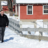 Ken Yuszkus/Staff photo: Danvers:  Danvers harbormaster Chris Sanborn began the oversight of Endicott Park in Danvers.
