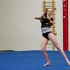 MARIA UMINSKI/SALEM NEWS Beverly Sophomore Bailey DeGrenier strikes a pose during her floor routine.