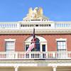 DAVID LE/Staff photo. Salem's Famous Custom House. 2/7/16.