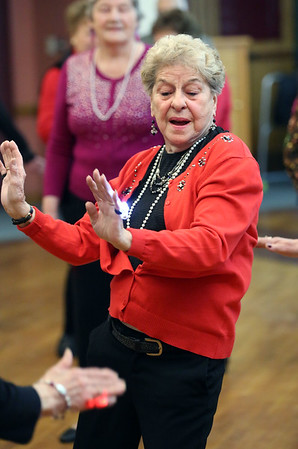 Valentines party at the Torigian Center in Peabody